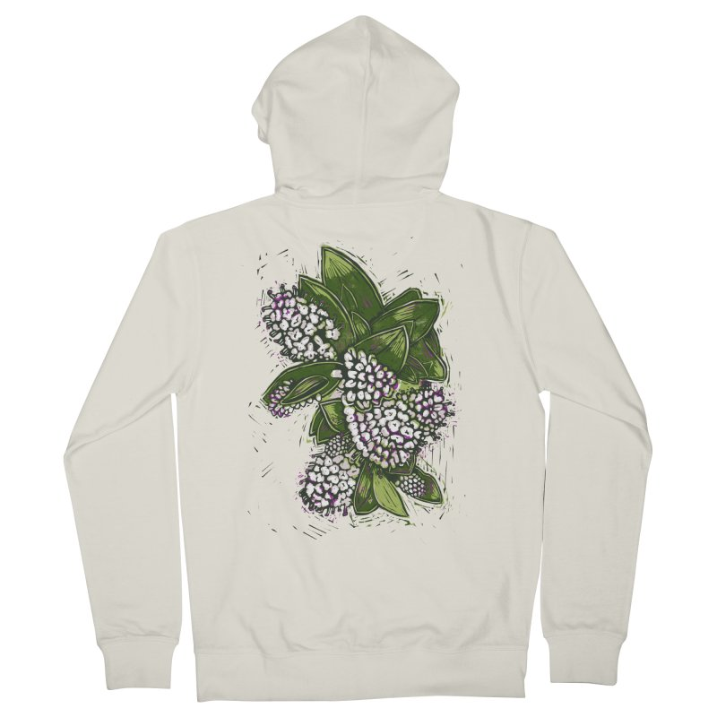 Bunch of Flowers Men's Zip-Up Hoody by louisehubbard's Artist Shop