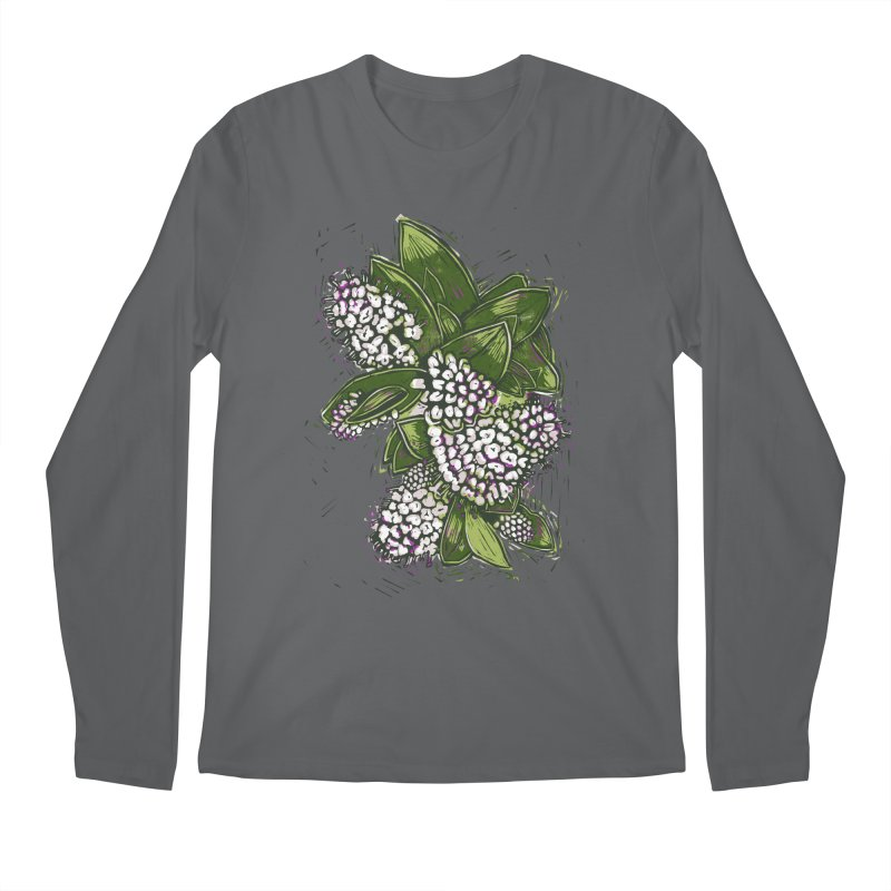 Bunch of Flowers Men's Regular Longsleeve T-Shirt by louisehubbard's Artist Shop