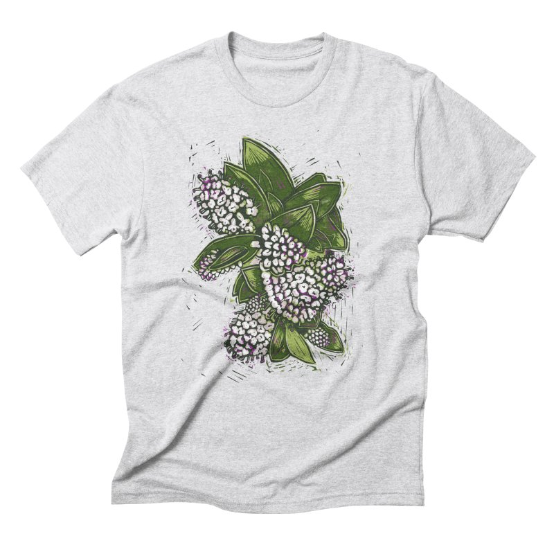 Bunch of Flowers Men's Triblend T-Shirt by louisehubbard's Artist Shop
