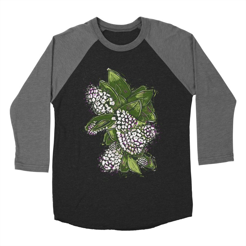 Bunch of Flowers Men's Baseball Triblend Longsleeve T-Shirt by louisehubbard's Artist Shop