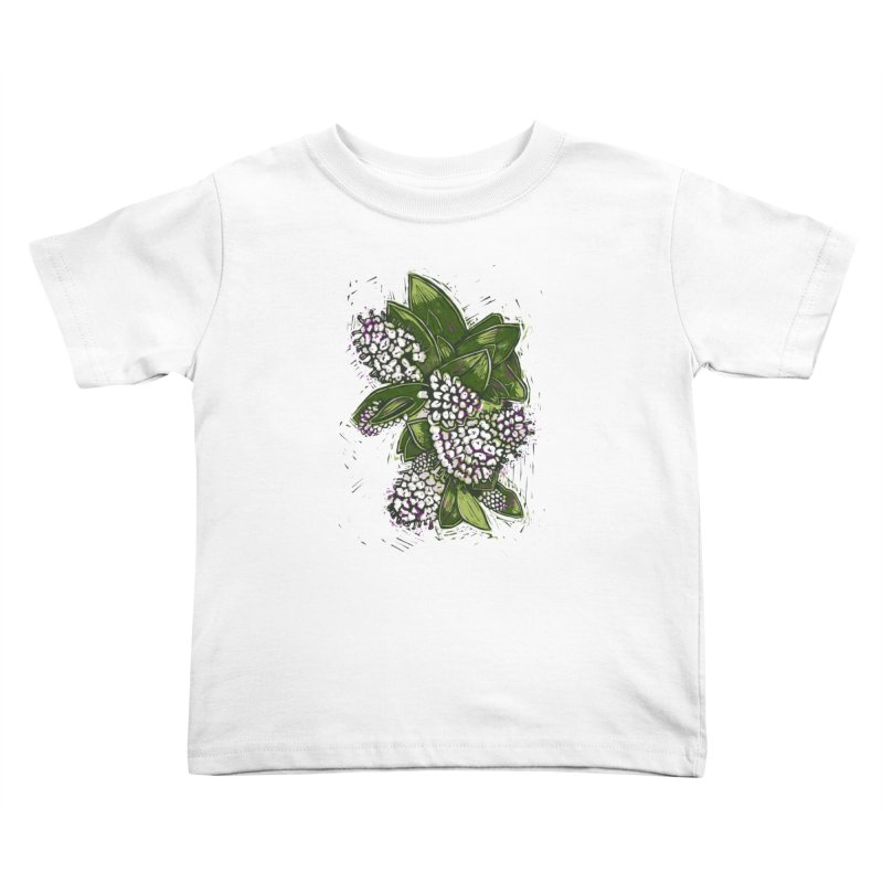 Bunch of Flowers Kids Toddler T-Shirt by louisehubbard's Artist Shop