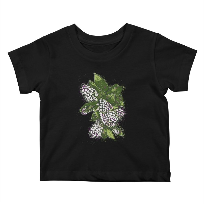 Bunch of Flowers Kids Baby T-Shirt by louisehubbard's Artist Shop