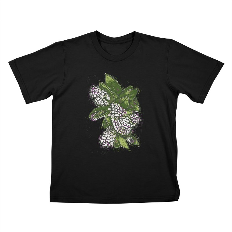 Bunch of Flowers Kids T-shirt by louisehubbard's Artist Shop