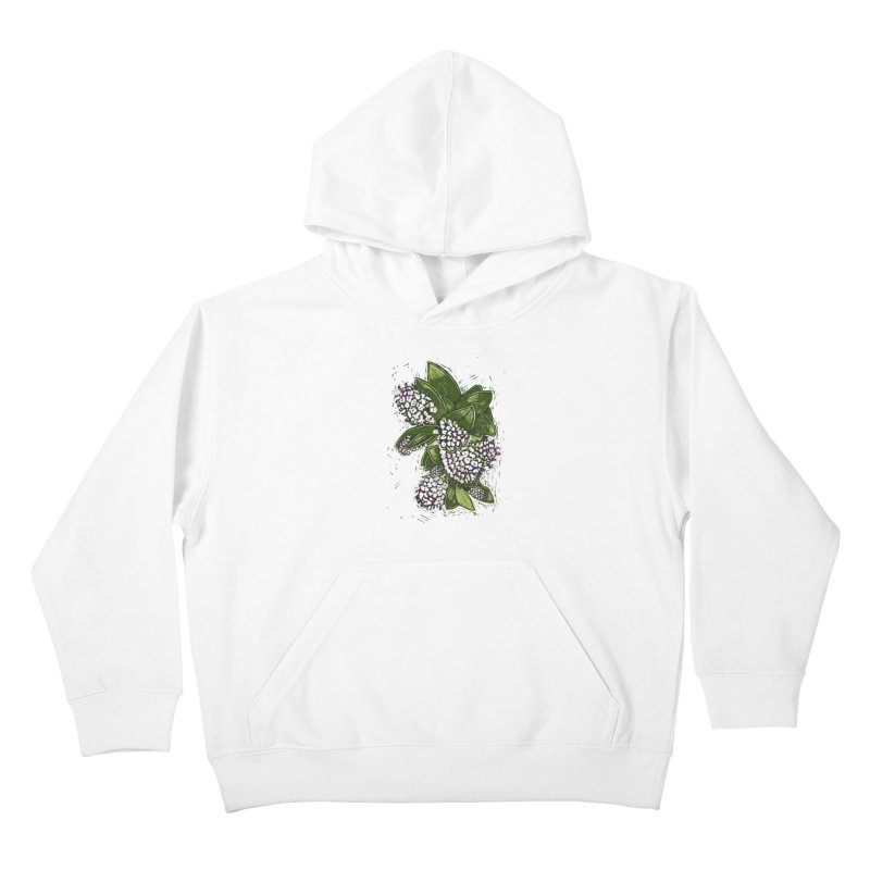 Bunch of Flowers Kids Pullover Hoody by louisehubbard's Artist Shop