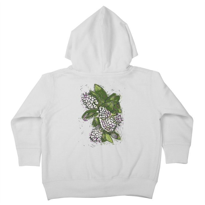 Bunch of Flowers Kids Toddler Zip-Up Hoody by louisehubbard's Artist Shop