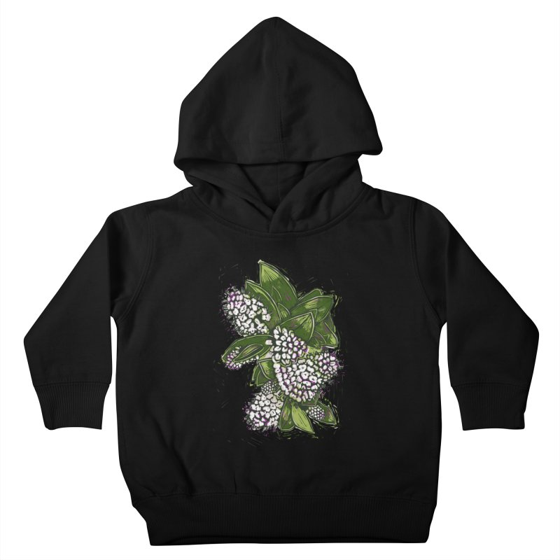Bunch of Flowers Kids Toddler Pullover Hoody by louisehubbard's Artist Shop