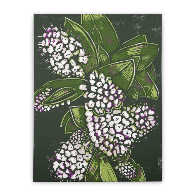 Bunch of Flowers Home Stretched Canvas by louisehubbard's Artist Shop