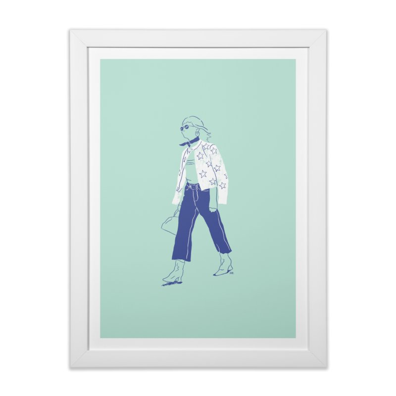 You must be my lucky star Home Framed Fine Art Print by Louise Walker Design & Shop
