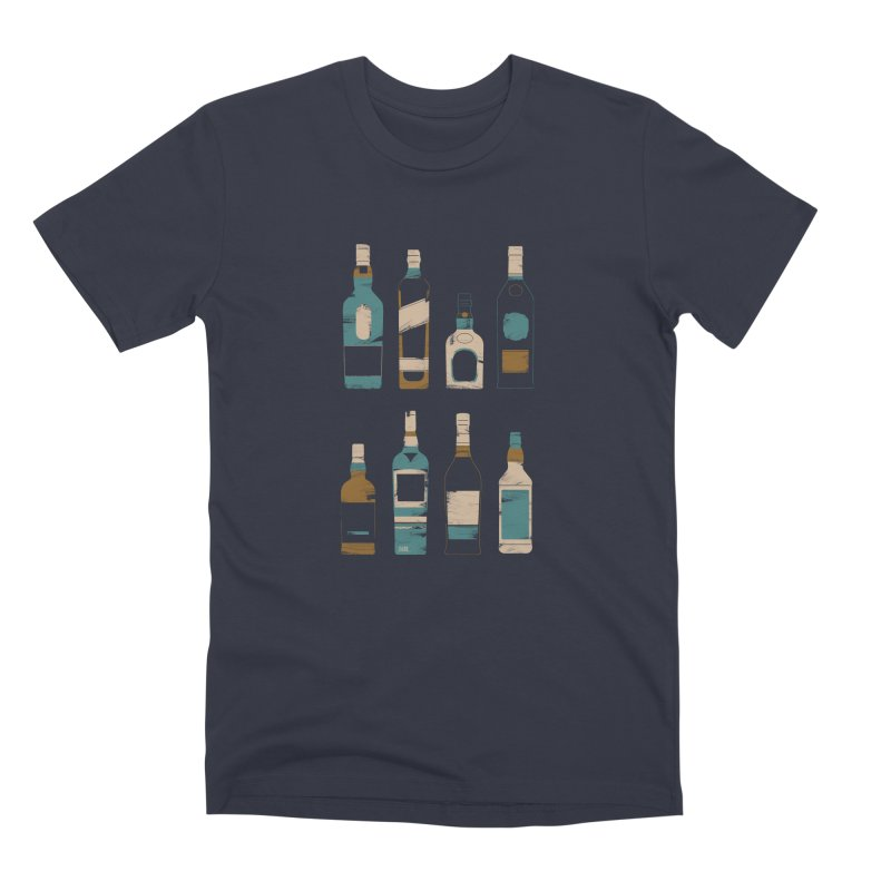 Whiskey Business Men's Premium T-Shirt by Louise Walker Design & Shop