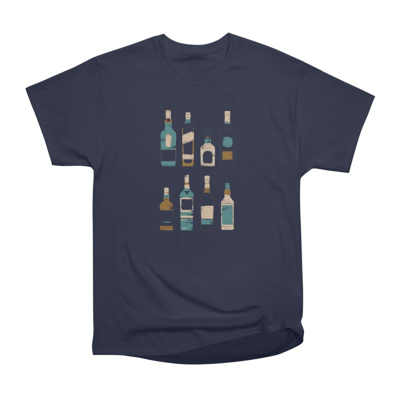 Whiskey Business Men's Heavyweight T-Shirt by Louise Walker Design & Shop