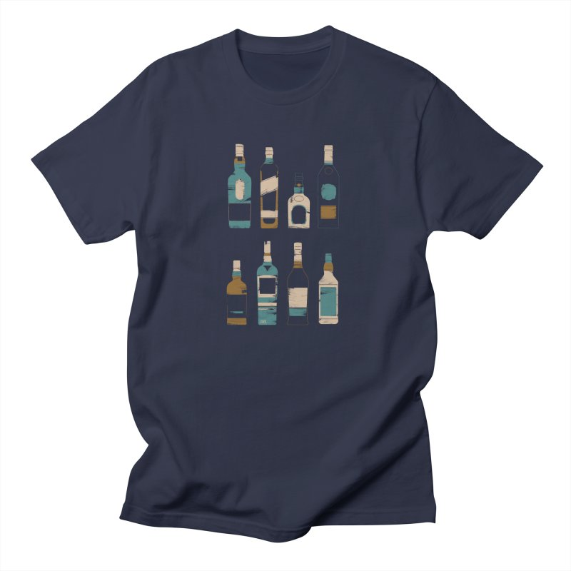 Whiskey Business Men's T-Shirt by Louise Walker Design & Shop