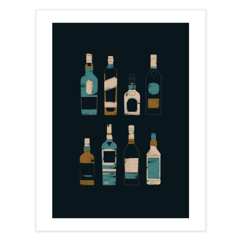 Whiskey Business Home Fine Art Print by Louise Walker Design & Shop