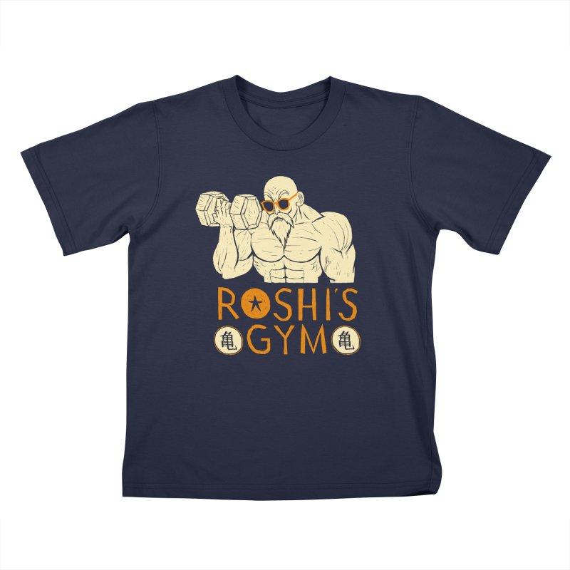 roshis gym Kids Toddler T-Shirt by louisros's Artist Shop