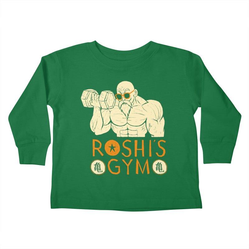 roshis gym Kids Toddler Longsleeve T-Shirt by louisros's Artist Shop