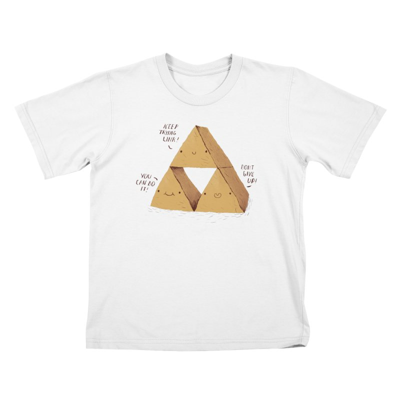 the try force Kids T-Shirt by louisros's Artist Shop