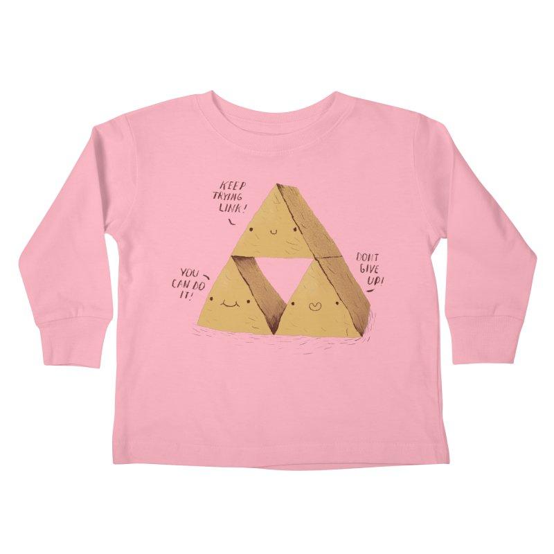 the try force Kids Toddler Longsleeve T-Shirt by louisros's Artist Shop