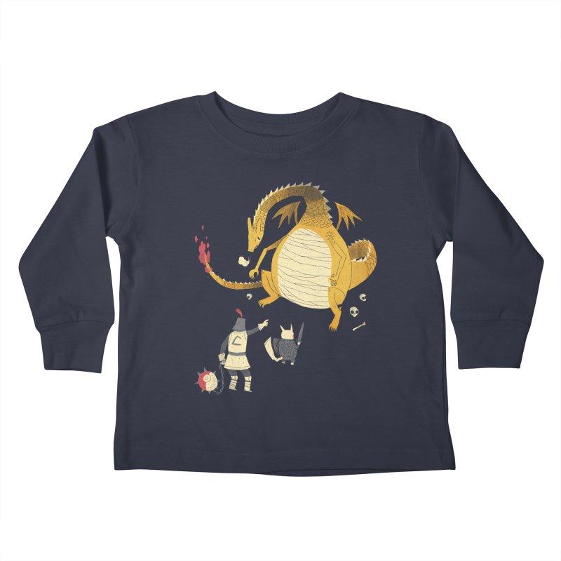 catcheth them all Kids Toddler Longsleeve T-Shirt by louisros's Artist Shop