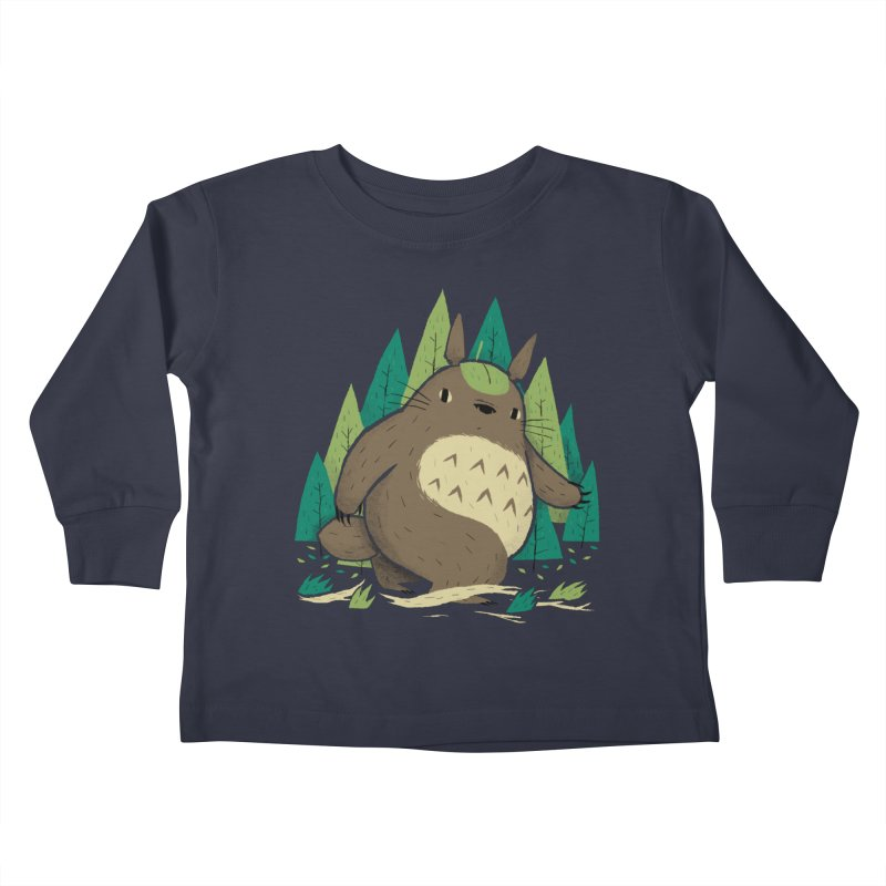 torofoot Kids Toddler Longsleeve T-Shirt by louisros's Artist Shop