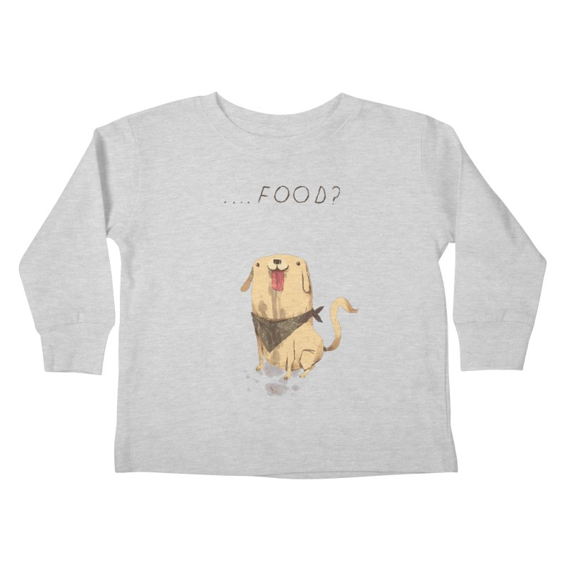 food Kids Toddler Longsleeve T-Shirt by louisros's Artist Shop