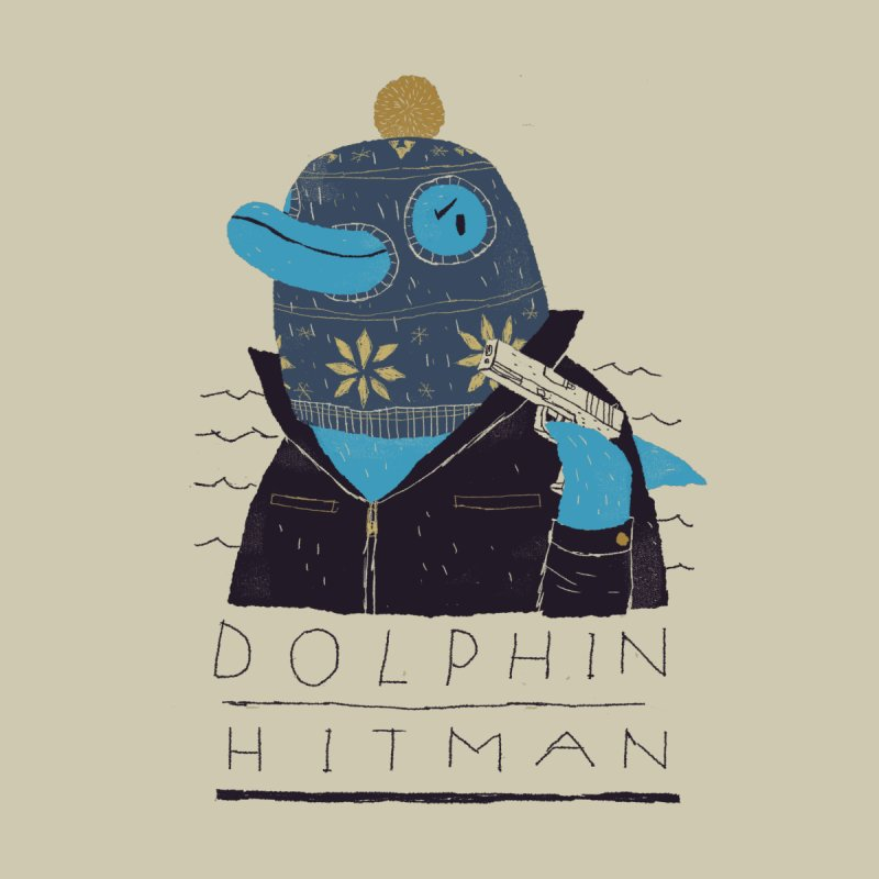 dolphin hitman   by louisros's Artist Shop