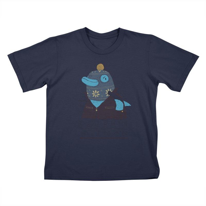 dolphin hitman Kids T-Shirt by louisros's Artist Shop