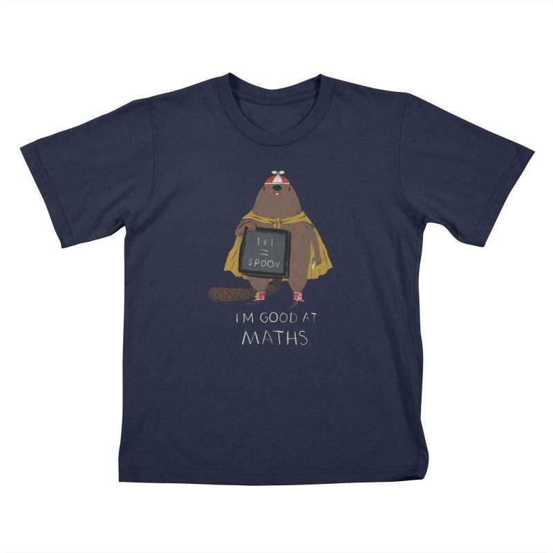 maths Kids Toddler T-Shirt by louisros's Artist Shop