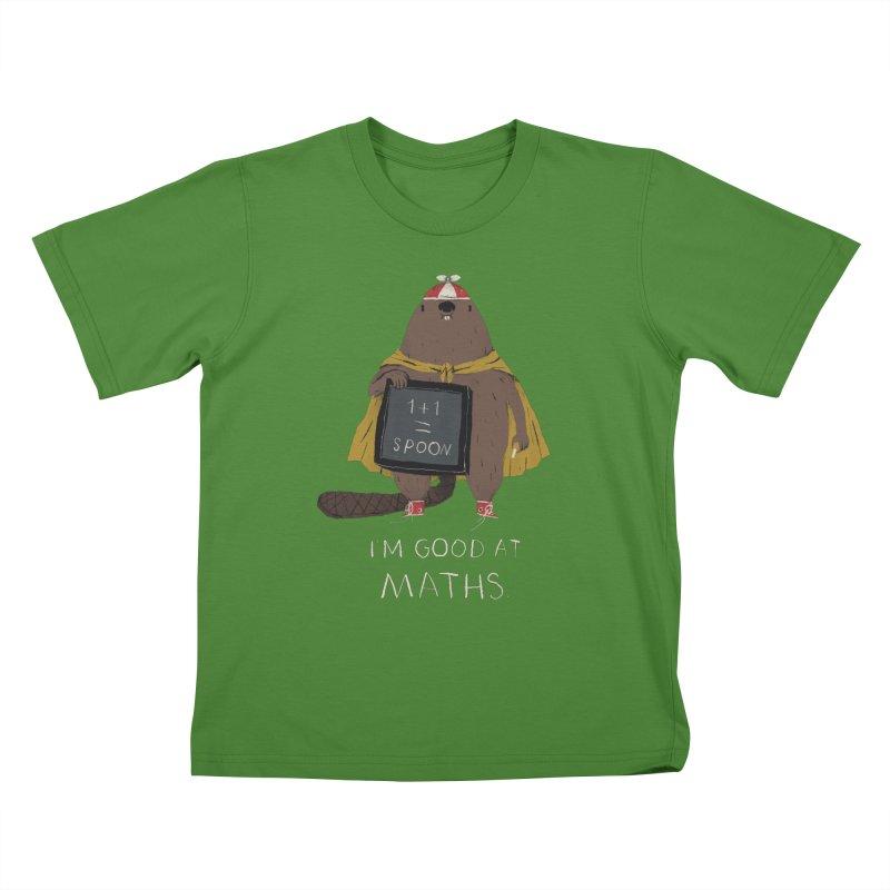 maths Kids T-Shirt by louisros's Artist Shop
