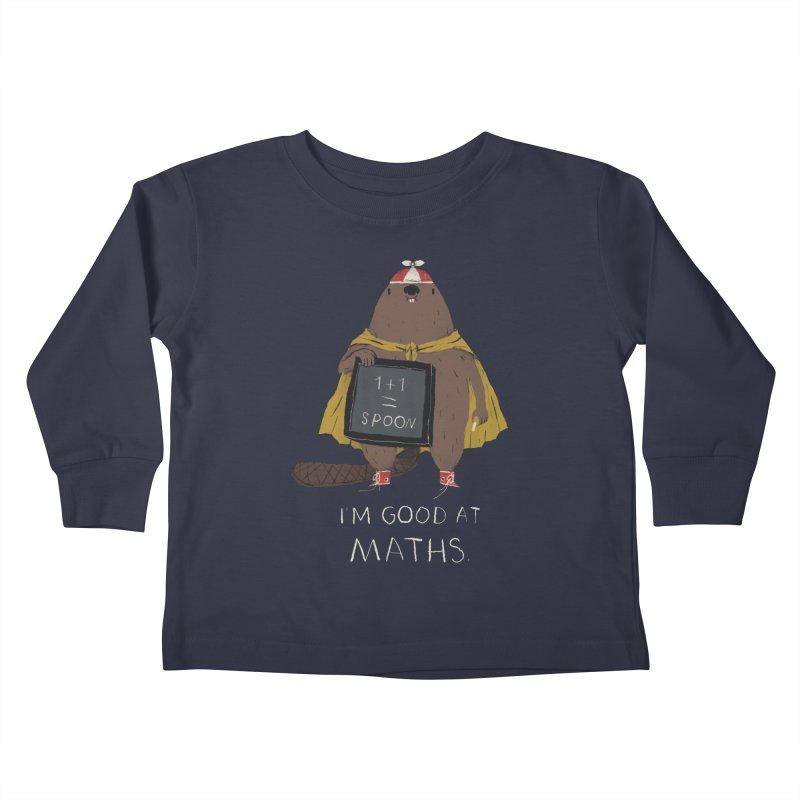 maths Kids Toddler Longsleeve T-Shirt by louisros's Artist Shop