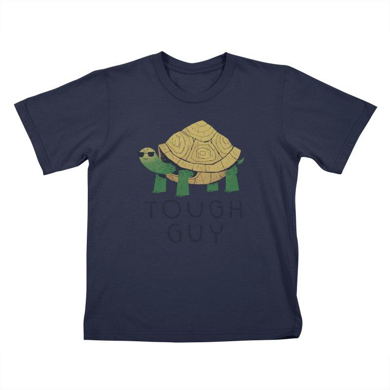 tough guy Kids Toddler T-Shirt by louisros's Artist Shop