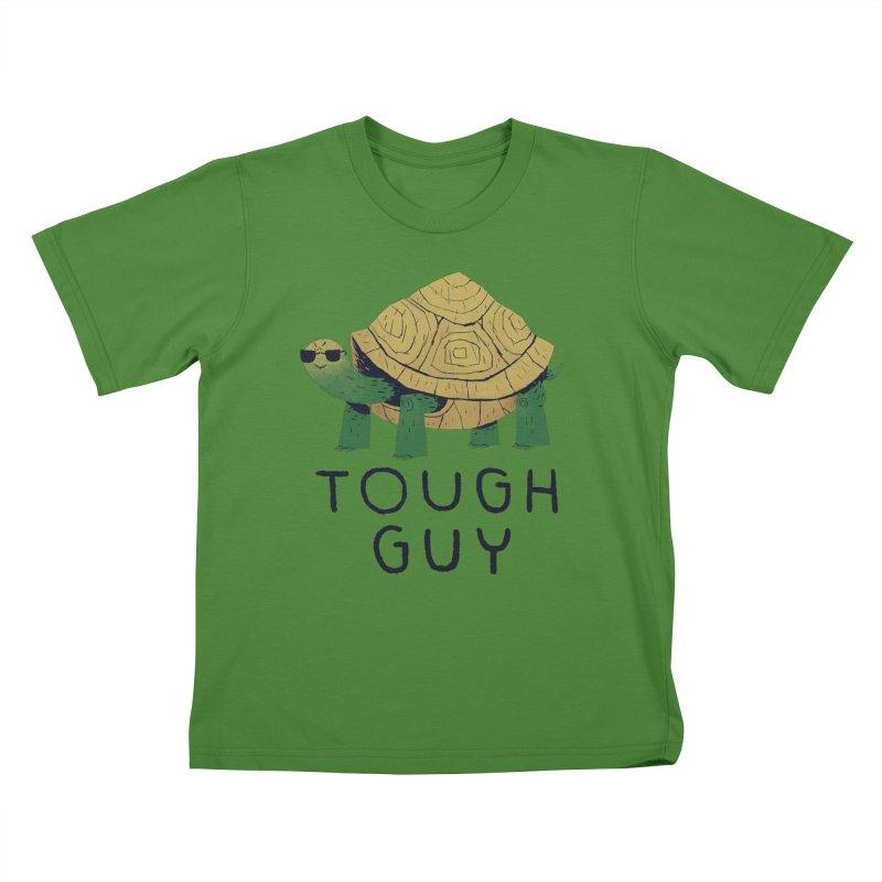 tough guy Kids T-Shirt by louisros's Artist Shop
