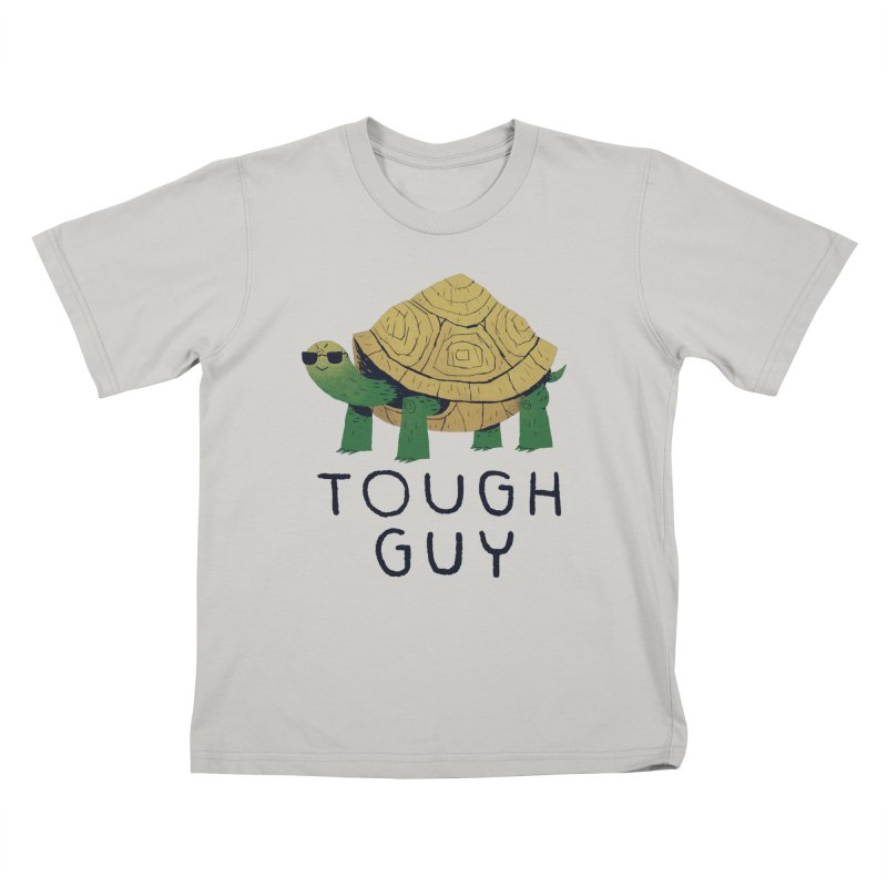 tough guy Kids T-Shirt by louisros's Artist Shop