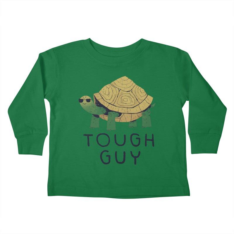 tough guy Kids Toddler Longsleeve T-Shirt by louisros's Artist Shop