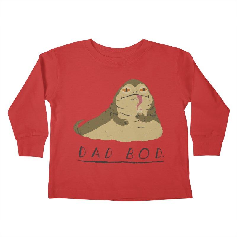 dad bod Kids Toddler Longsleeve T-Shirt by louisros's Artist Shop