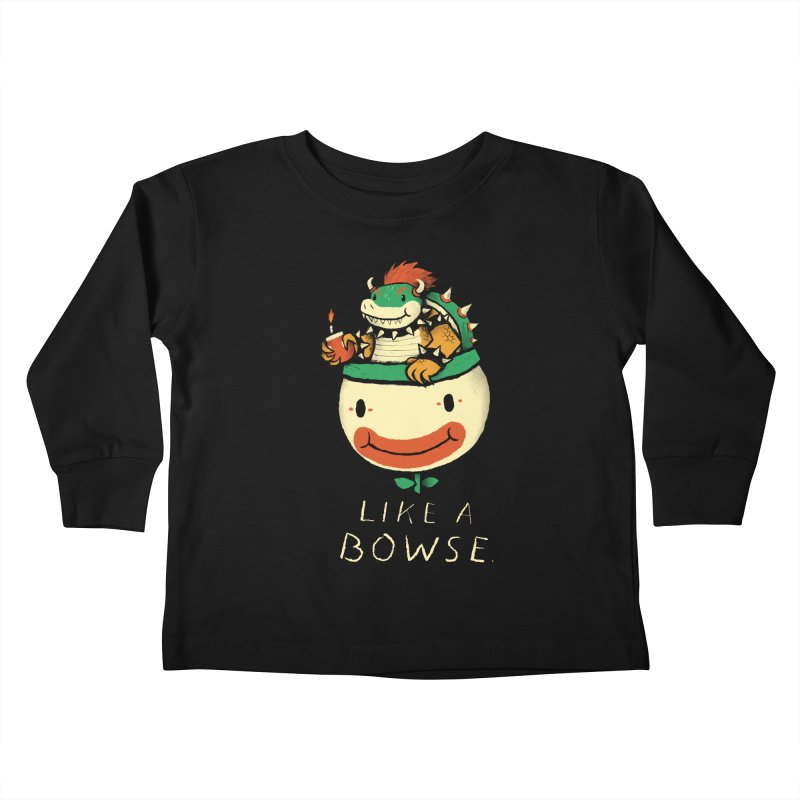 like a bowse Kids Toddler Longsleeve T-Shirt by louisros's Artist Shop