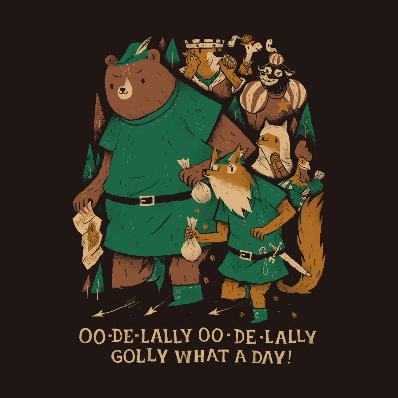 oo de lally Kids T-Shirt by louisros's Artist Shop