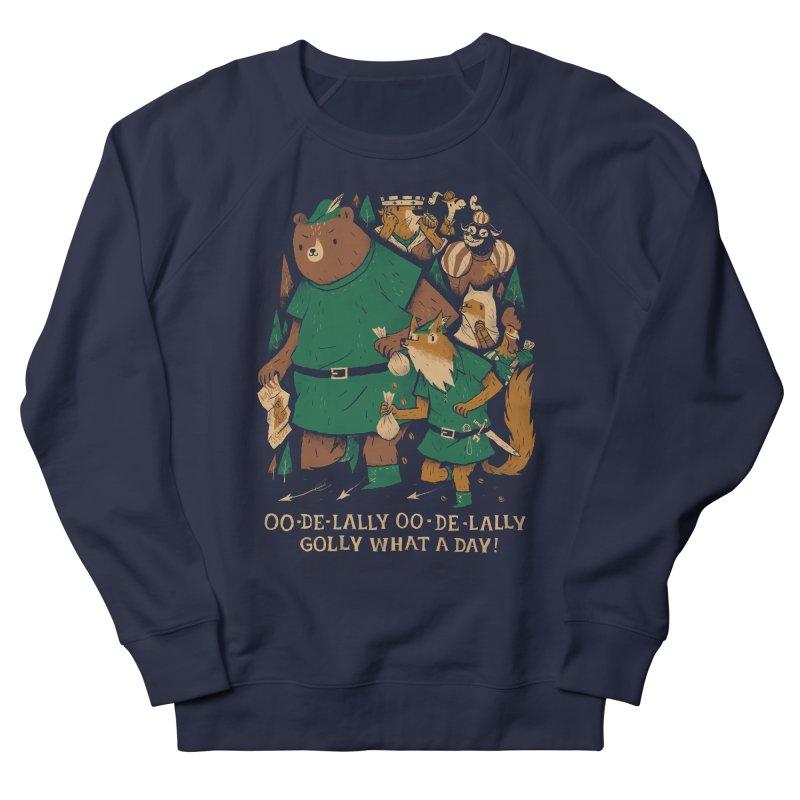 oo de lally Women's French Terry Sweatshirt by louisros's Artist Shop