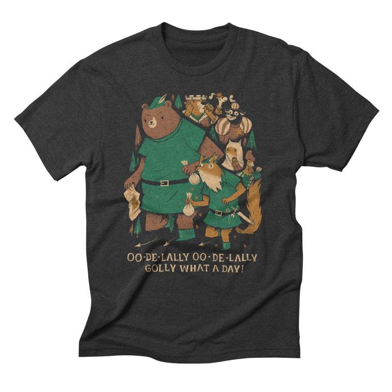 oo de lally Men's Triblend T-Shirt by louisros's Artist Shop