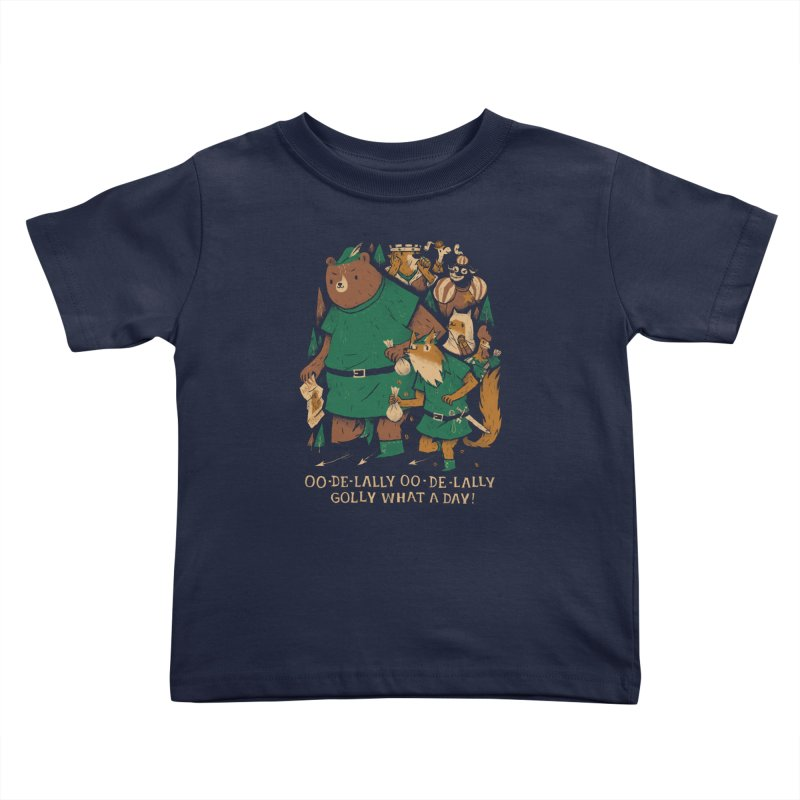 oo de lally Kids Toddler T-Shirt by louisros's Artist Shop