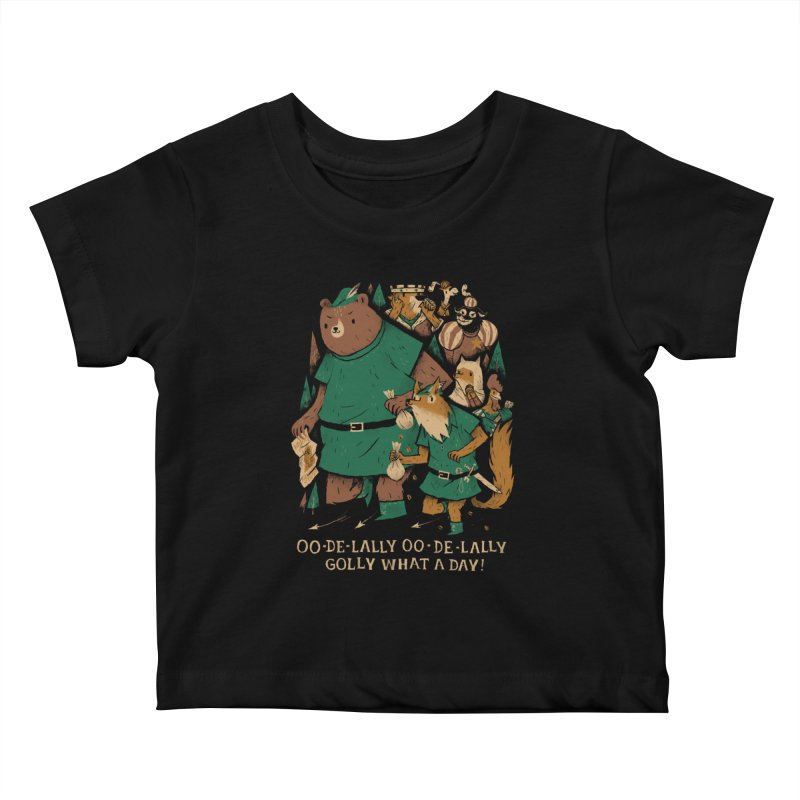 oo de lally Kids Baby T-Shirt by louisros's Artist Shop
