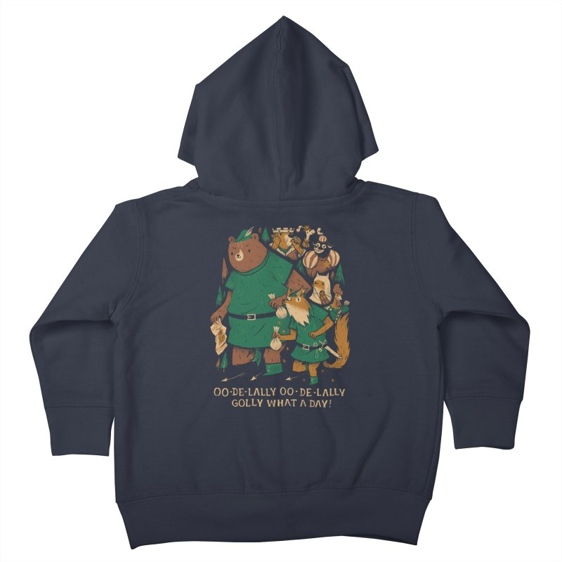 oo de lally Kids Toddler Zip-Up Hoody by louisros's Artist Shop