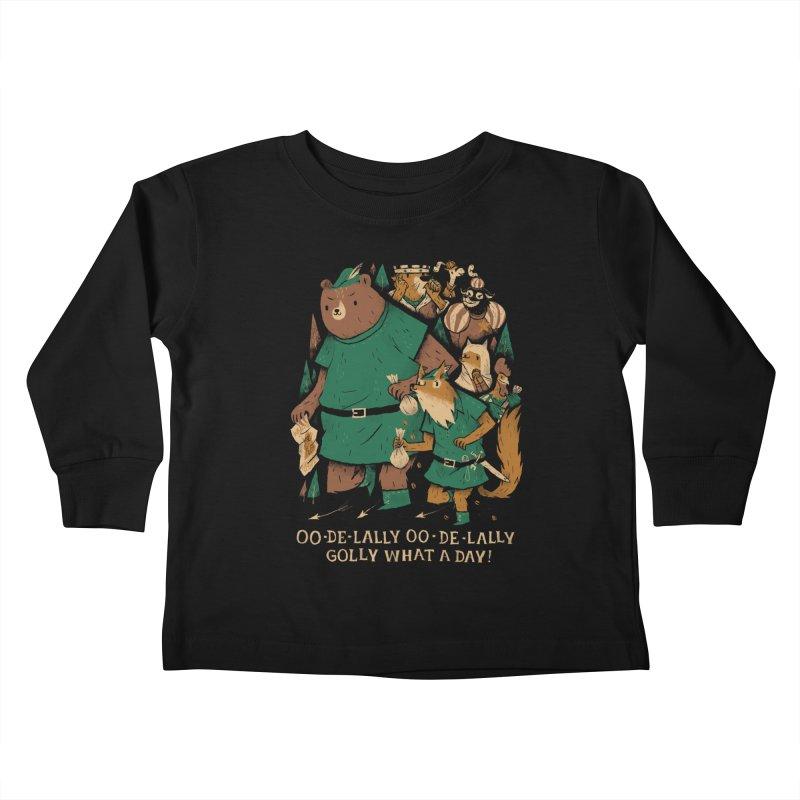 oo de lally Kids Toddler Longsleeve T-Shirt by louisros's Artist Shop
