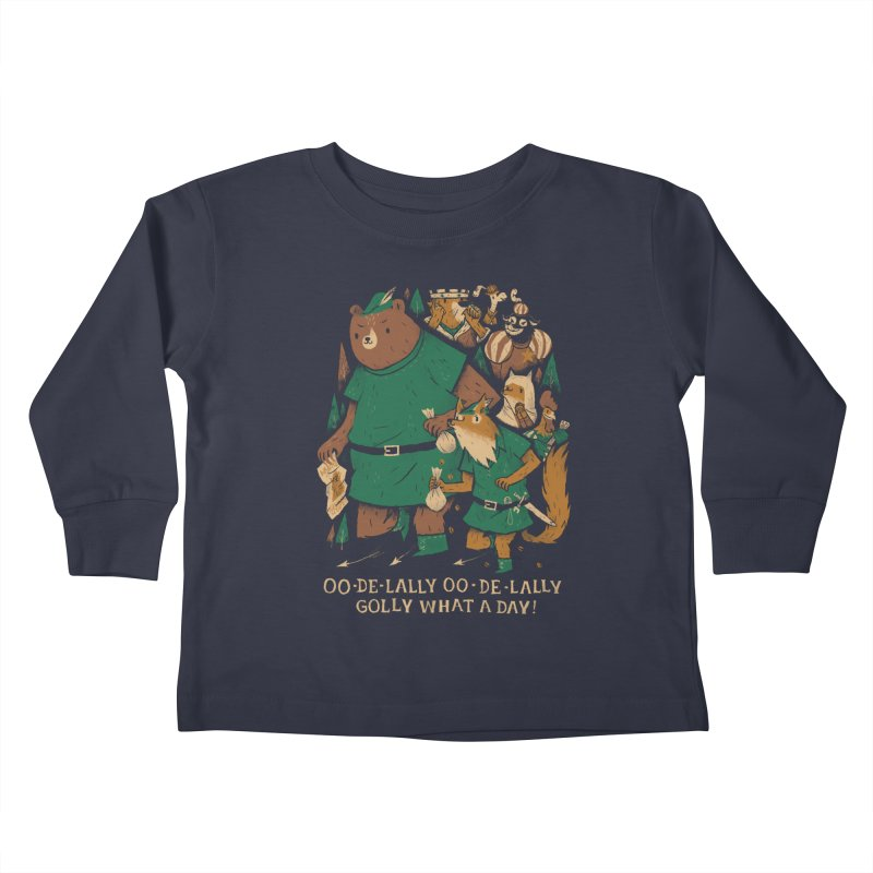 oo de lally Kids Toddler Longsleeve T-Shirt by louisros's Artist Shop