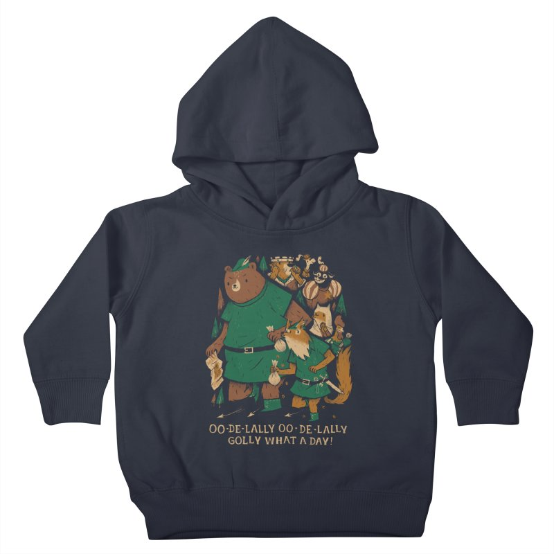 oo de lally Kids Toddler Pullover Hoody by louisros's Artist Shop