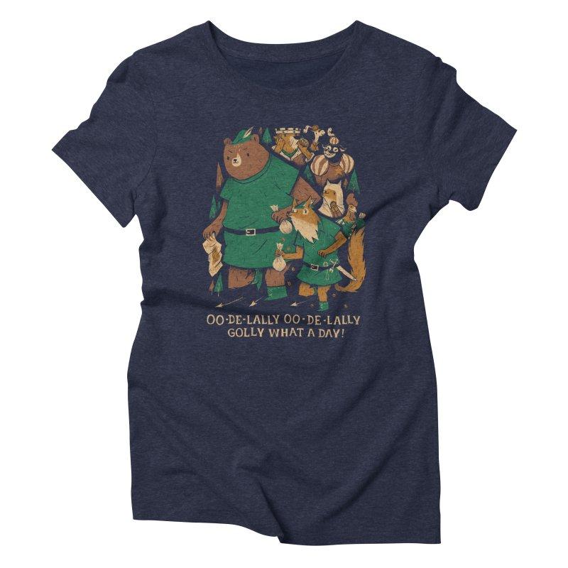 oo de lally Women's Triblend T-shirt by louisros's Artist Shop