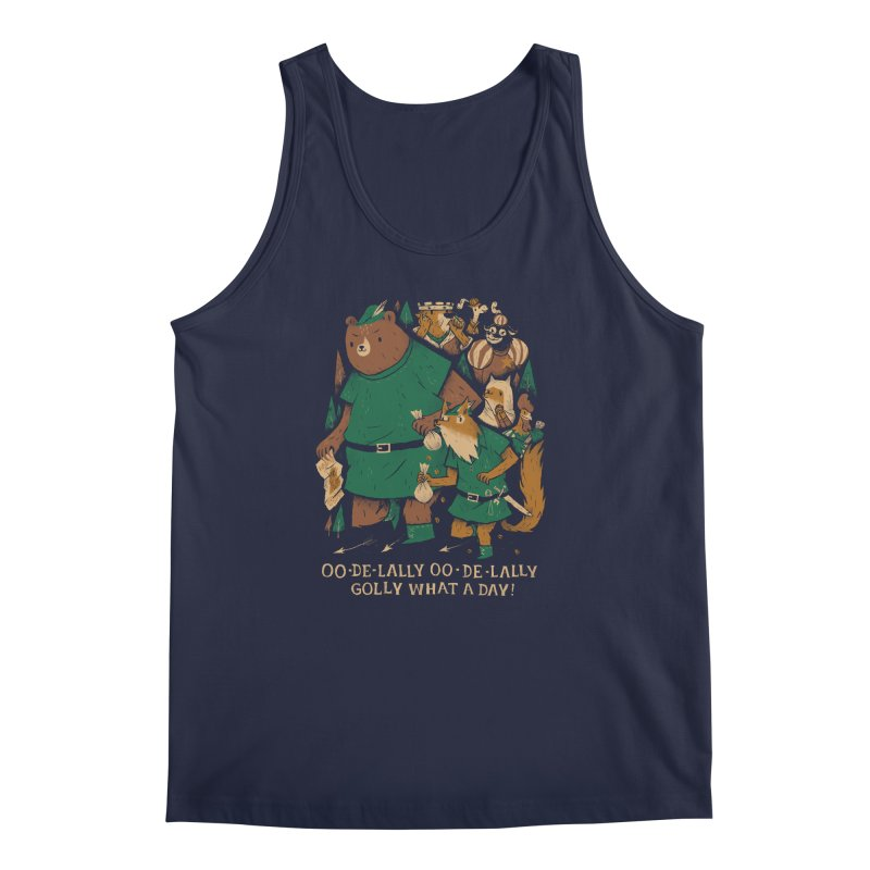oo de lally Men's Regular Tank by louisros's Artist Shop