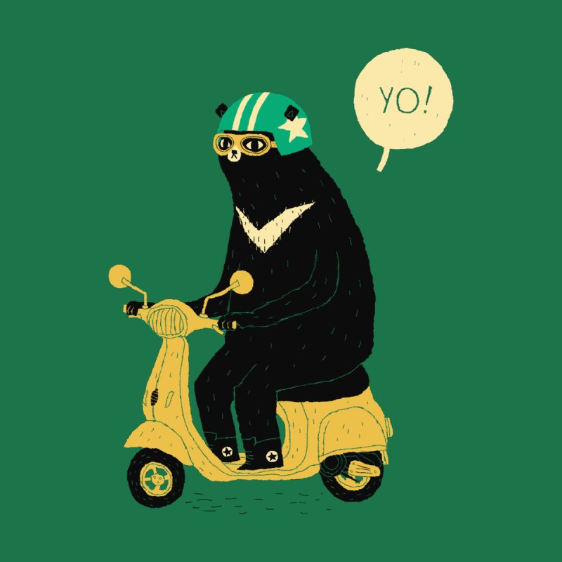 scooter bear by louisros's Artist Shop