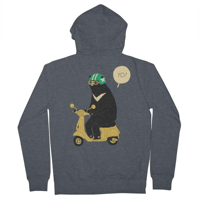 scooter bear   by louisros's Artist Shop