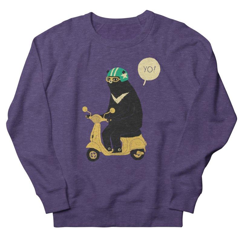 scooter bear Women's Sweatshirt by louisros's Artist Shop