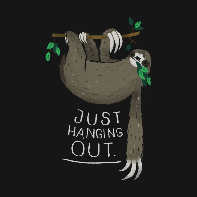 just hanging out Kids T-Shirt by louisros's Artist Shop