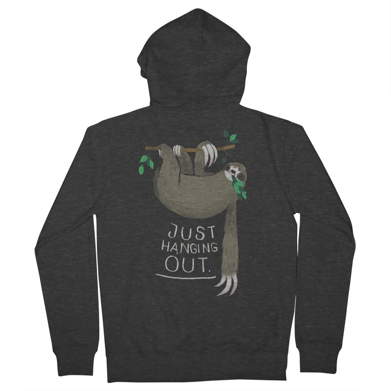 just hanging out Women's Zip-Up Hoody by louisros's Artist Shop